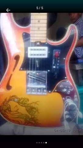Gitar listrik Limited edition super special of squier