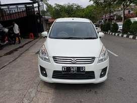 Suzuki Ertiga 1,4 GX manual th2013 warna putih dp bisa rendah