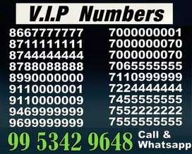 Most Fancy VIP Prepaid Mobile Number in good series for sale All India