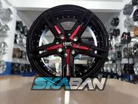 menjual hsr wheel keunikai ring 15x6,5 h8(114,3/100) di ska ban