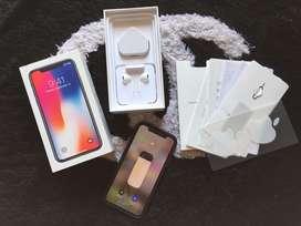 Iphone X 64Gb Gray (minus cuman face id saja)