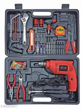 Tools box with drill