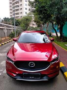 Mazda CX-5 Elite 2018 Warna Merah, Km Low, Istimewa
