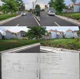 Tanah Kosong Cocok Kos/Rumah/Villa di Tukad Badung