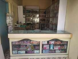 General store furniture and cupboard