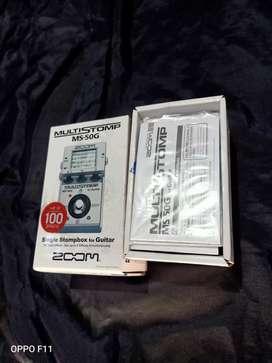 Efek multistomp ZOOM MS-50G