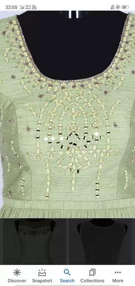 Handwork or embroidery work k liye person chahiye