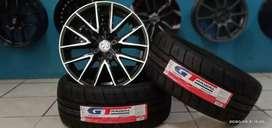 Paket velg+ban semislick GT Champiro SX2 R16 cocok untuk Avanza city