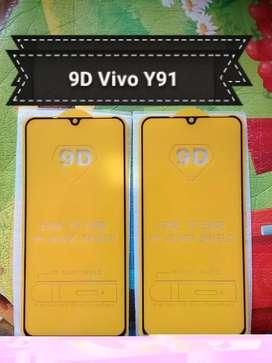 Pelindung Layar Full Lem Full COVER Vivo Y91