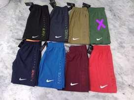 Nike and Adidas shorts