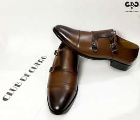 Leather shoes 100% original Mustard brown