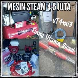 Mesin usaha cuci steam motor