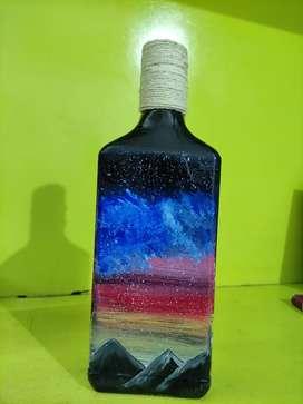 Bottle art ,craft, paintings