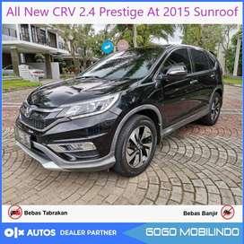 All New CRV 2.4 Prestige At 2015 Sunroof Orisinil Bisa Kredit