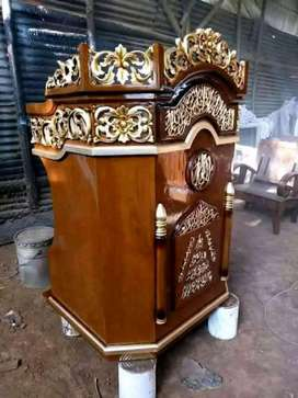 mimbar masjid jatii biasa