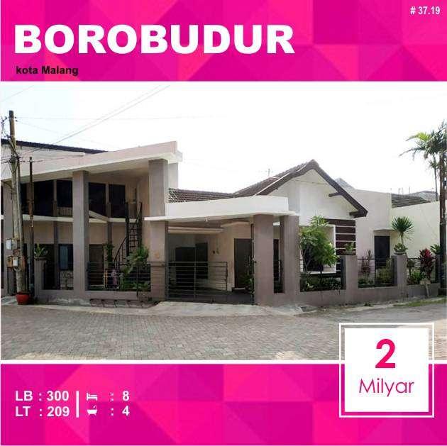 Rumah + Kost 5 Kamar Luas 209 di Borobudur Suhat kota Malang _ 37.19 0