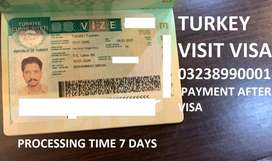 TURKEY VISIT VISA 100%