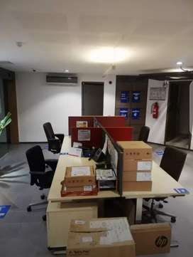 Chance Deal:Around 700 Sqft Semi-Furnished Office In Shahrah e Faisal