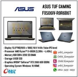 Asus TUF FX506IV-R9R6B6T AMD Ryzen 9-4900H RAM 8GB SSD 512GB
