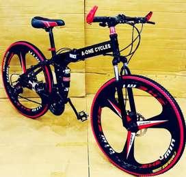 NEW MAC WHEEL FOLDABLE CYCLES.