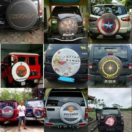 Sarung/Tutup Ban Serep Jeep All-Ecosport Desain Sendiri Bisa Tambah Ny