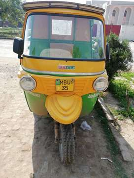 Loader rikshwa   company super style with 200cc engin