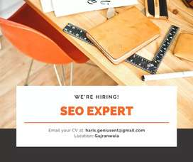 "Position Vacant   ""SEO Expert"""
