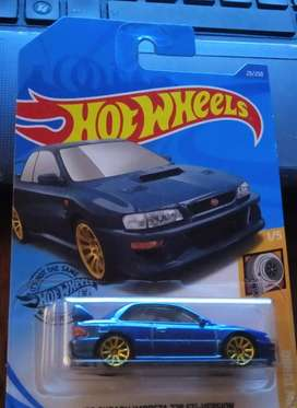 Hot Wheels Subaru Impreza Sti