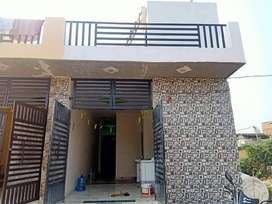 75 Gaj home on 25 ft road with home loan 80% 1 year maintenance free