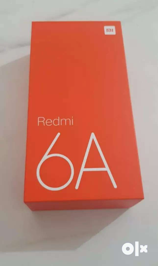 Sealed Pack Redmi 6a Available with Bill and 1 year warranty. 0