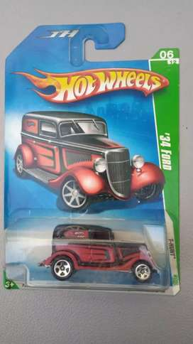Hotwheels 34 Ford T-Hunt Collector Edition