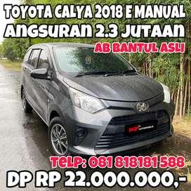 Toyota Calya 2018 Manual AB Bantul Asli Muraaahh Istimewa Tinggal pake