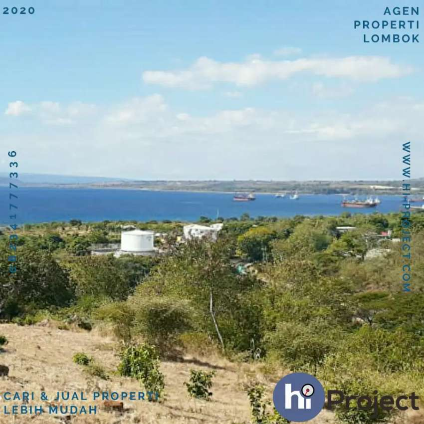 57 Hektar Tanah dekat Pantai di Sumbawa T444 0