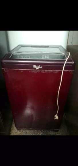 FULLY Automatic whirlpool washing machine .