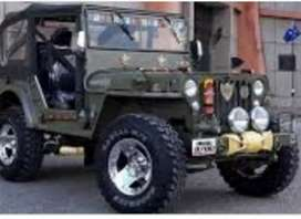 Mahindera Toyota modified jeep
