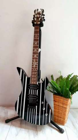 Gitar Schecter Synister Hitam New