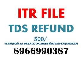 income taax file