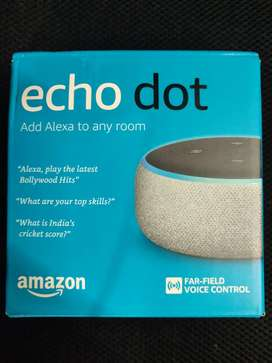 Amazon echo dot alexa voice control speaker sealed