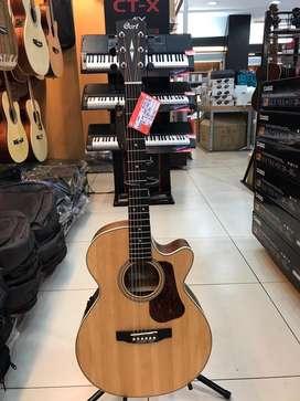 Gitar Cort E/Acoustic L100F-NS-Top Solid-Bisa Kredit 0% Bunga