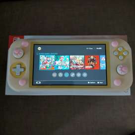 Nintendo switch lite yellow fullset