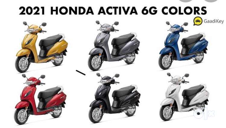 Brand new Activa 6G on lowest price for sale 0