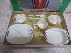 Tempat makan bayi 1set asli Japan