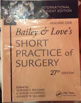 Bailey and Love Short Practice of Surgery