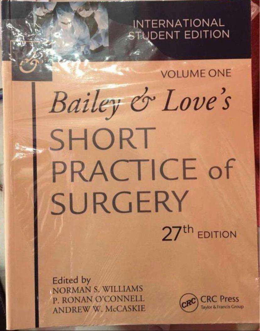 Bailey and Love Short Practice of Surgery 0