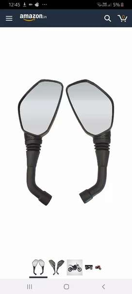 Bajaj pulsar 200ns side mirrors