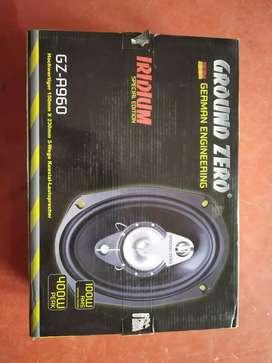 Bran new Ground zero 400 watts  car ovel speakers MRP 4490