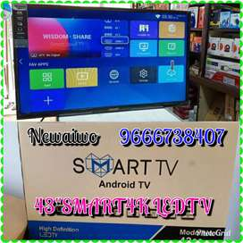"Aiwo Trademark brand 43""smart android  4k Ledtv"