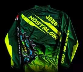 Jersey Sepeda Custom Bisa Satuan