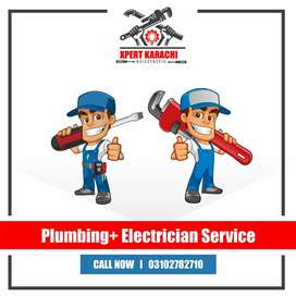 Plumber electrician Service