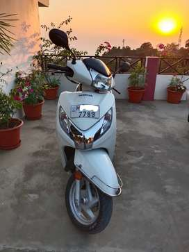 ACTIVA 125 CC, ALOY TYRES AND DISK BRAKE